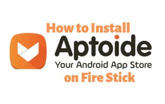 Install Aptoide TV on Firestick : How to Guide on installing Aptoide TV Apk